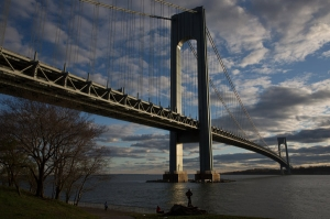 Police officials say heroin enters Staten Island by car, some by way of Brooklyn across the Verrazano-Narrows Bridge. Damon Winter/The New York Times